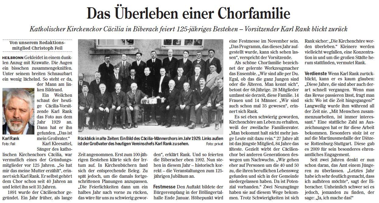 Heilbronner Stimme vom 17.02.2016