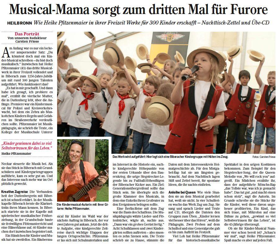 Heilbronner Stimme vom 13.07.2016